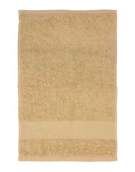 Gastendoekje/handdoek - ca. 30 x 50 cm, beige