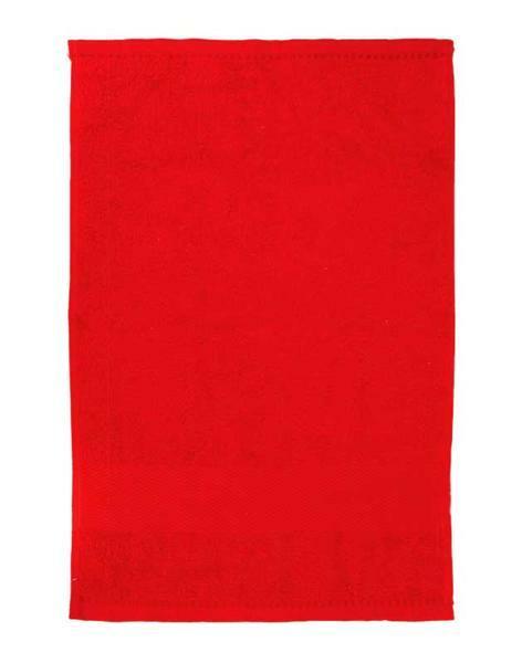 Gastendoekje/handdoek - ca. 30 x 50 cm, rood