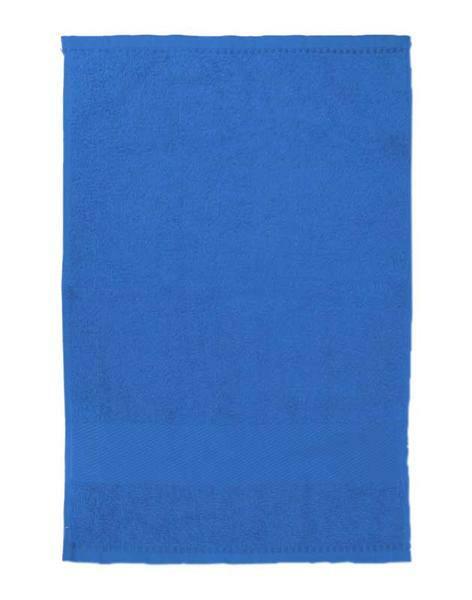 Gastendoekje/handdoek - ca. 30 x 50 cm, blauw