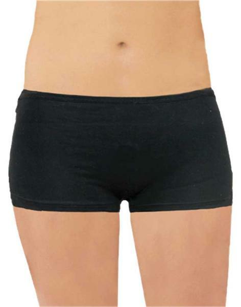 Boxershort dames - zwart, M