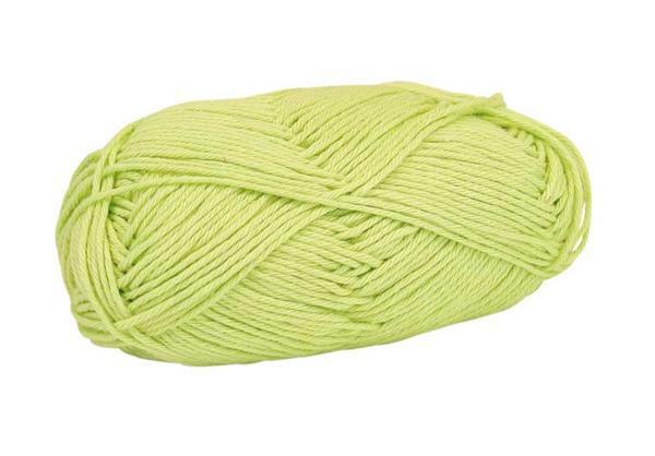 Wolle Cotton Fun - 50 g, hellgrün