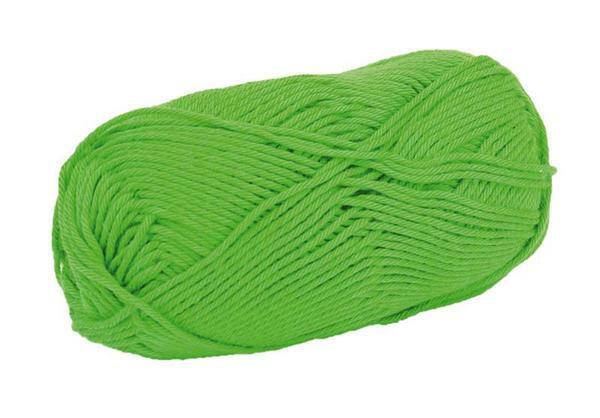 Wolle Cotton Fun - 50 g, grün