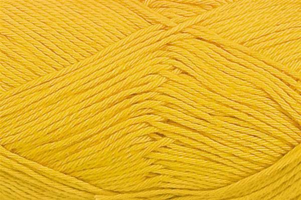 Wol Cotton Fun - 50 g, donkergeel