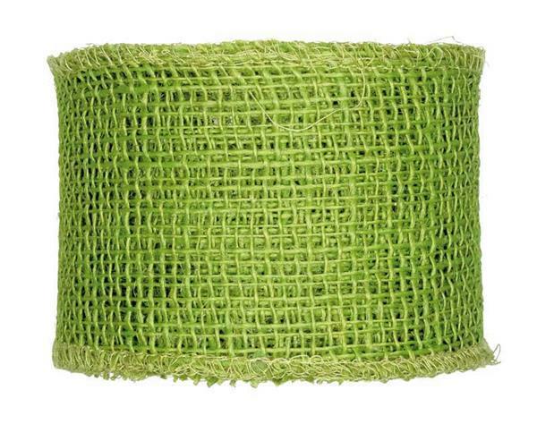 Juteband - 8 x 1000 cm, grün