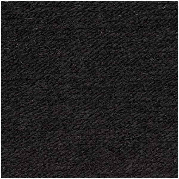 Wol Essentials Acrylic - 100 g, zwart