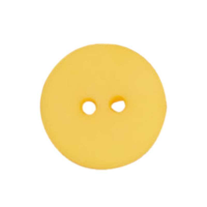 Boutons 2 trous - Ø 18 mm, jaune