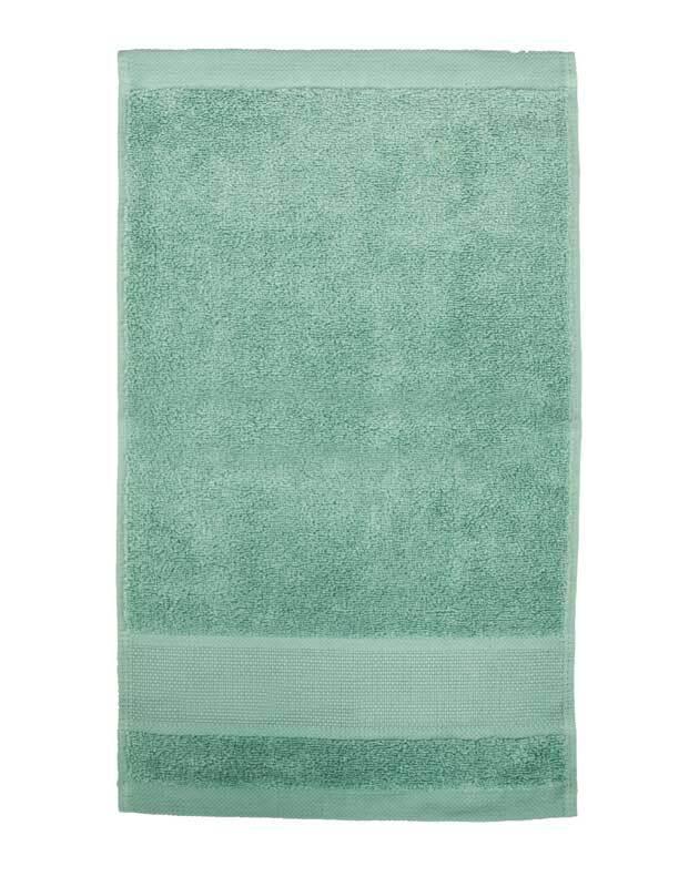 Gästehandtuch - 30 x 50 cm, meergrün
