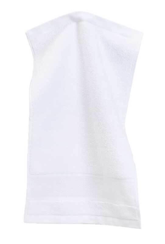Gästehandtuch - 30 x 50 cm, weiß