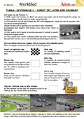 Formule 1 - wordt jij later ook coureur?