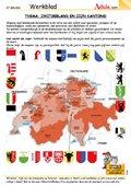 Zwitserland en zijn kantons!
