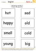 Activity cards 2 - Which of these words fits you?