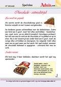 Chocolade - eetwedstrijd