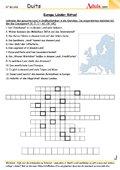 Europa Länder Rätsel