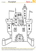 Kleurplaat kasteel