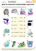 Quiz: De elektrische huishoudelijke apparaten!