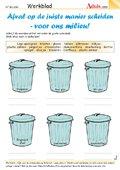 Afval op de juiste manier scheiden - voor ons mili