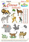 Circus animals - Your turn to be the ringmaster