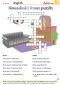 Household items puzzle - Do your chores
