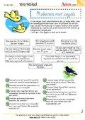 Rekenen met vogels