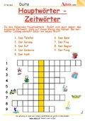 Hauptwörter - Zeitwörter
