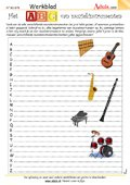 Het ABC van muziekinstrumenten