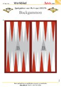 Spelsjabloon Backgammon voor Multispel, N° 200.176
