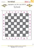 Spelsjabloon schaken voor Multispel, N° 200.176