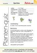 Planten-quiz