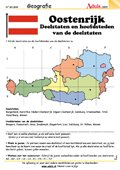 Oostenrijk - Deelstaten en hoofdsteden v.d. deelst