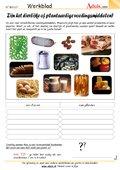 Dierlijke of plantaardige voedingsmiddelen