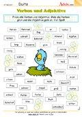 Verben und Adjektive