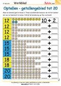 Optellen - getallengebied tot 20