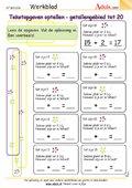 Tekstopgaven optellen - getallengebied tot 20