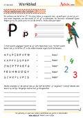 We oefenen de letter P