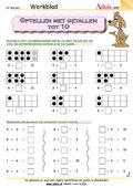Optellen met getallen tot 10
