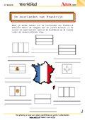 De buurlanden van Frankrijk