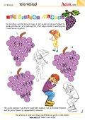 Met druiven rekenen