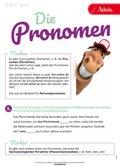 Die Pronomen
